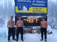 Anywhere, below zero is cold. Apparently not so, in Alaska.
