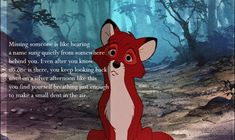 """Slow Dance"" by Tim Seibles / The Fox and the Hound Sad Disney Quotes, Disney Tattoos Quotes, Sad Movie Quotes, Sad Movies, Disney Movies, Disney Pixar, Walt Disney, Cartoon Quotes, Slow Dance"