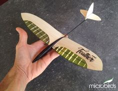 possibly worlds smallest and lightest and floatiest glider with massive under chamber airfoil very similar to that of an owl Airplane Crafts, Airplane Kits, Micro Rc Planes, Radio Controlled Aircraft, Rc Glider, Balsa Wood Models, Aircraft Design, Model Airplanes, Paper Models