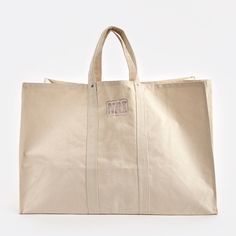 Check out the Puebco Labour Canvas Tote Bag in Bags & Totes, Personal Style from The Goodhood Store for Ss16, Large Bags, Small Bags, Utility Tote, Canvas Tote Bags, Canvas Totes, Medium Bags, Cotton Tote Bags, Cotton Canvas