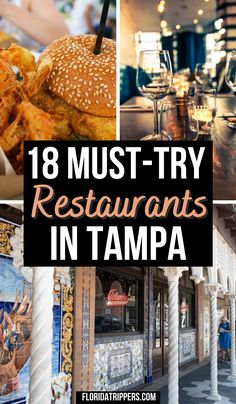 18 Best Restaurants In Tampa Everyone Should Try | restaurants in tampa | tampa restaurants | restaurants in tampa florida | tampa florida restaurants | best restaurants in tampa fl | tampa restaurants downtown | best tampa restaurants | brest restaurants in tampa | top restaurants in tampa | top tampa restaurants | cute restaurants in tampa | unique restaurants in tampa | fun restaurants in tampa | #tampafloridarestaurants #tamparestaurants