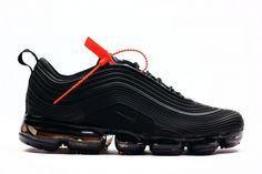 huge discount cc938 3f9c6 New 2018 Nike Air Max 97 VaporMax KPU Triple black Nike Air Vapormax, New  Nike