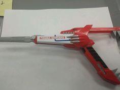 Power Rangers Mighty Morphin Red Blade Blaster Tyrannosaurus Jason Morpher Rare