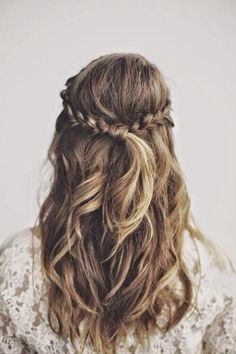 By: volleyball beauty ♛ ♡ (volleyballbeaut) hair hair, long hair styles, ha Pretty Hairstyles, Braided Hairstyles, Wedding Hairstyles, Hairstyle Ideas, Updo Hairstyle, Summer Hairstyles, Hairstyles Haircuts, Latest Hairstyles, Famous Hairstyles