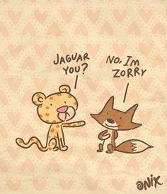 Jaguar you - Happy drawings :)
