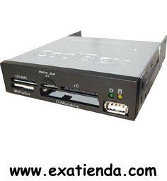 Ya disponible Lector oem int. negro negro   (por sólo 11.95 € IVA incluído):   -LECTOR/GRAB. OEM INTERNO 36EN1 NEGRO  -Puertos USB: 1 -Tipos soportados: CompactFlash (CF)(tipos I y II), CF Ultra (tipos I y II), CF Extreme y Extreme III, MicroDrive, Smart Media, Secure Digital (SD), SDPro, SD Ultra II, SD Extreme, SD Extreme III, MMC, MMC Pro, RS-MMC,MS (memory Stick), MS Duo, MS Pro, MS Pro Duo, MS Pro Ultra II, XD  Garantía de 24 meses.  http://www.exabyteinformatica.co