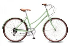 Foffa Plume Mint Green city ladies hybrid bike