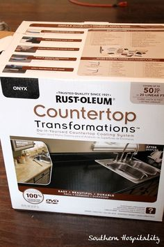 Rustoleum Countertop transformation kit...we just did this. While quite labor intensive, it is great!!!  As with anything, your prep is your product so don't skimp on that step. Could not be happier with the results.