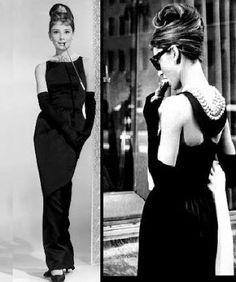 """Meu Mundo Cênico: Outubro 2012 Audrey Hepburn em Bonequinha de luxo (1961) O vestido preto de Audrey Hepburn criado por Givenchye levou a um outro patamar o """"pretinho básico"""" idealizado por Chanel na década de 20 e acabou eternizado não só como um dos maiores clássicos do cinema, mas também da história da moda."""