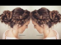 How to : Reverse Fishtail Braid Tutorial | Messy Fishtail Updo Hair Tutorial - YouTube