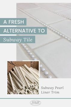 Are you a bit hesitant to use subway tile in your home? Does it feel a little too trendy? We've got something that's unique, fresh, & timeless! You'll love the classic look of this subway tile alternative!