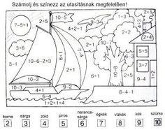 JujoBoro: Matematika feladatlapok, feladatok, versenyötletek első osztályosoknak