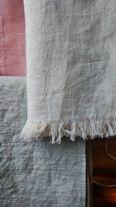 """Linen Throw.  100% linen.  33"""" x 54"""". Multiple colors available."""