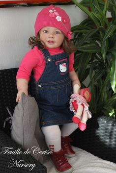 Charlotte - reborn toddler fille