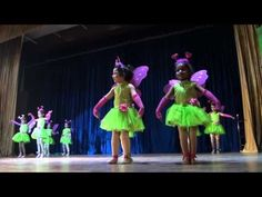 Bhartiya Vidya Mandir, Annual Function , Kids Performing fairy Dance - YouTube