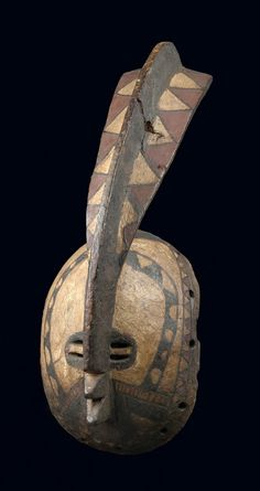 "Africa | Mask ""wan balinga"" from the Mossi people of Burkina Faso 