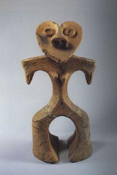Jomon Ceramics Heart Head Dogu