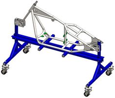This rigid sportster frame assembly tutorial is a guide to building the frame step by step.