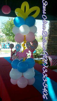 perfecta pieza central unicornio para una fiesta de cumpleaños magestic