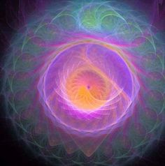 Quantum Energy Fractal Mandala