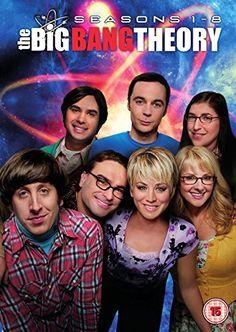The Big Bang Theory - Season 1-8 [DVD] [2015] - OR SINGULAR SEASONS... MAY FIND CHEAPER AT CEX DONT MIND USED