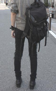 aka-thirteen:  Backpack by MEMENTISM JP