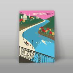 Philadelphia Kelly Drive Part Three Fairmount Park by nolibsdesign
