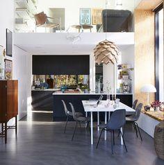 moderne wohnzimmergestaltung in schwarz-weiß | modern and taylors - Moderne Wohnzimmergestaltung