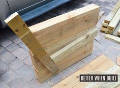diy outdoor sofa, diy, garden furniture, woodworking projects furniture - All For Garden Outdoor Sofa, Outdoor Furniture Plans, Diy Garden Furniture, Deck Furniture, Pallet Furniture, Rustic Furniture, Furniture Stores, Furniture Ideas, Furniture Movers