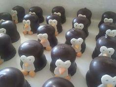 Pinguïnzoenen!! Leuke traktatie leuk traktati