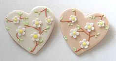 Decorated Cookies Gift | Heart Cookies, Wedding Heart Decorated Cookies, Wedding Cookies ...