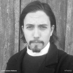 Jackson Rathbone as Reverend Thomas McCord in Justice. Jackson Rathbone, Alice Cullen, Funky Fashion, Portrait, People, Beautiful, Twilight, Jasper, Texas
