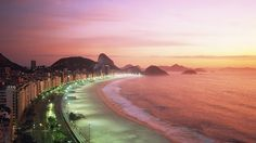 Spend New Year's Eve on Copacabana Beach - Brazil's 2nd largest event outside of Carnival. (Photo by Getty)