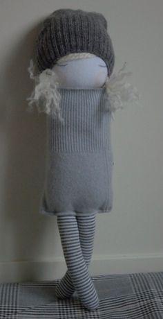 Muc-muc Sock Crafts, Sock Toys, Sock Animals, Creation Couture, Waldorf Dolls, Sewing Toys, Soft Dolls, Diy Doll, Fabric Dolls