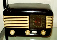 Radio on the kitchen counter. Always on during the day. I was 3 yrs old & remember the bulletin announcing JFK's assasination. Momma was ironing & crying.