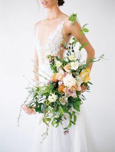 Colorful wedding bouquet: Photography: Natalie Bray - http://nataliebray.com/