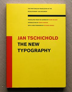 Jan Tschichold - The new typography