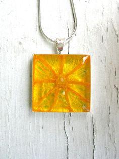 Real Orange Pendant