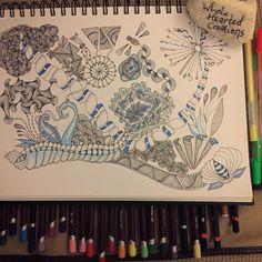 Feeling #blue #zia #zentangle #zenart #zendoodle #art #aquafleur #arttherapy #brainyoga #beautiful_mandalas #colouringforadults #adultcolouring #doodle #drawing #derwentcoloursoft #freehand #featureuniverse #handdrawn #hearttangles #inkvember #instaart #instaartist #mandalala #manadalazen #narwal #skrien #tangle #theartzenterFBpage #wholeheartedcreations
