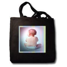 Diaper Baby – Black Tote Bag JUMBO 20w X 15h X 5d - Click image twice for more info - See larger selection of  Diaper Bags at  http://zbabybaby.com/category/baby-categories/baby-diapering/baby-diaper-bags/  - gift ideas, baby , baby shower gift ideas, kids   « zBabyBaby.com