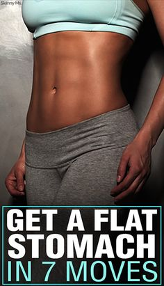 flat tummy moves