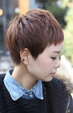 Sharp & Sexy 'Rihanna' Pixie Cut – Boyish Asian Haircut for Female   Hairstyles Weekly