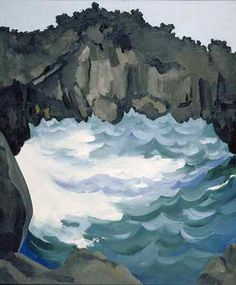 When Georgia O'Keeffe Went to Hawaii to Paint Pineapples for Dole Georgia O'keeffe, Black Lava Bridge, Hana Coast, No. Georgia O'keeffe, Wisconsin, Georgia O Keeffe Paintings, Alfred Stieglitz, New York Art, Art Institute Of Chicago, American Artists, Les Oeuvres, Henri Matisse