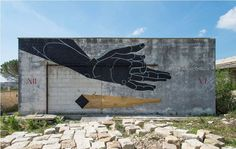 VIAVAI PROJECT  http://www.widewalls.ch/viavai-street-art-festival-salento-italy-2014/  #Viavai  #salento  #italy #streetart #muralart #basik
