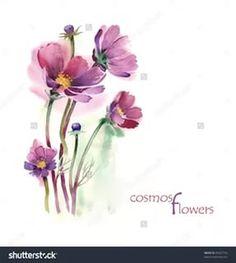 цветы акварель: 24 тыс изображений найдено в Яндекс.Картинках