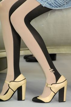 I could do without the logo, but the tights are divine...