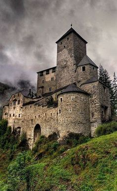 At the medieval castle in Trentino-Alto Adige, Italy.