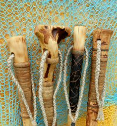 Root Walking Stick Wood hiking staff with by bearpawrustics