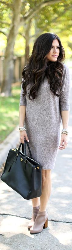 Sweater Dress Days / Fashion by The Sweetest Days