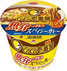 Curry ramen. Cocoichi and Cup Ramen